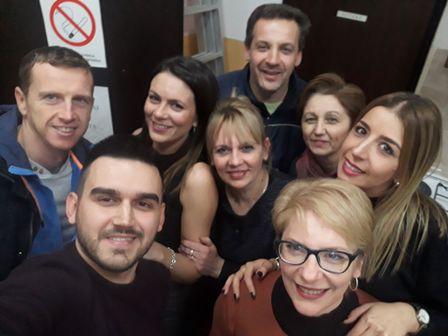 dežurni nastavnici i pomoćno osoblje žurka